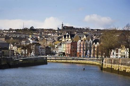 Kneeling Canoe River Lee Cork City Ireland Poster Print by Panoramic Images (36 x 24)