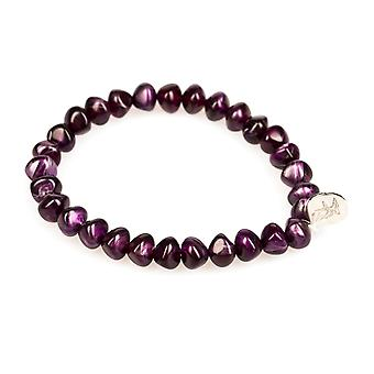 Bracelet fashion jewelry bracelet marble look purple look