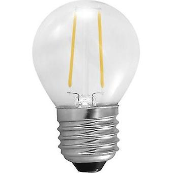LED Segula 230 V E27 2 W = 25 W Warm white EEC: A++ Droplet (Ø x L) 45 mm x 75 mm Filament 1 pc(s)