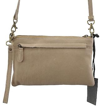 Dr Amsterdam shoulder bag/Clutch Olive Beige