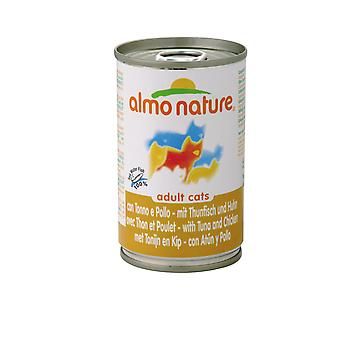 Almo Nature Cat Adult Tuna & Chicken 140g (Pack of 24)