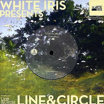Line & cirkel - romerske ruiner/skødesløshed [Vinyl] USA importerer