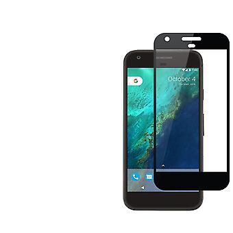 Hærdet glas 2.5D kant til kant sort skærm protektor For Google Pixel XL 5,5