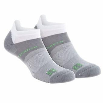 All Terrain Sock Low White Twin Pack