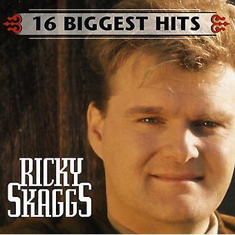 Ricky Skaggs - 16 största Hits [CD] USA import