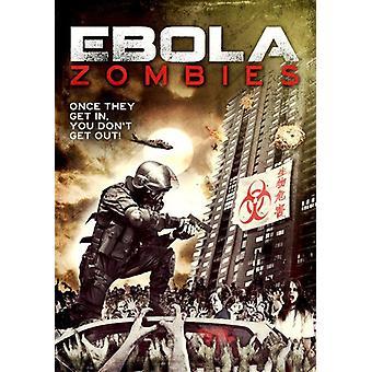 Ebola zombier [DVD] USA importerer