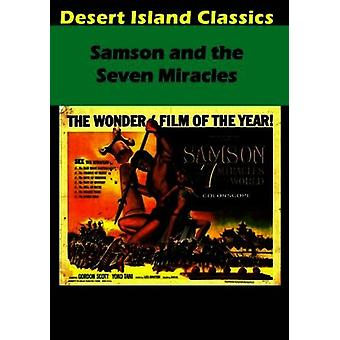 Samson & the Seven Miracles [DVD] USA import