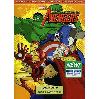 Marvel the Avengers-Earths Mightiest Heroes Vol. 4 [DVD] USA import