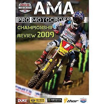 AMA Motocross mesterskab gennemgang 2009 [DVD] USA importerer