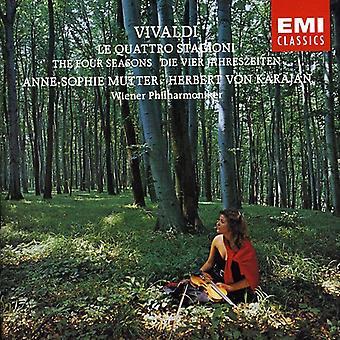 Mutter/Karajan - Vivaldi: Le Quattro Stagioni [CD] USA import
