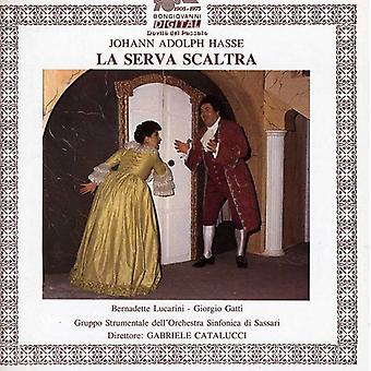 Johann Adolph Hasse - Hasse: Importación de Estados Unidos La Serva Scaltra [CD]