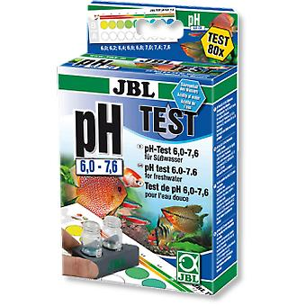 JBL PH TEST-SET 6.0-7.6 (Fish , Maintenance , pH & Other Substance Test Strips)