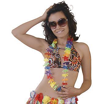 Hawaii-halsband 1 m Hula Hawaii blomma kedja beach party