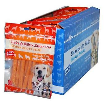 Mgz Alamber Snack Chicken And Carrot Sticks 80 Gr. (Dogs , Treats , Sticks)