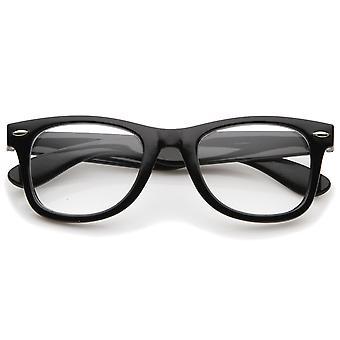 Classic dick Square Lichtscheibe Horn umrandeten Brille 50mm