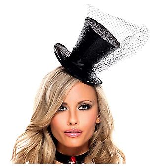 Be Wicked BW1061 Sparkle Top Hat