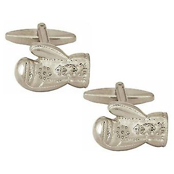 Zennor Boxing Glove Cufflinks - Silver