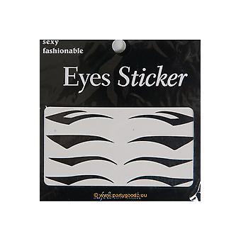 Make up och ögonfransar Eyeliner tatuering