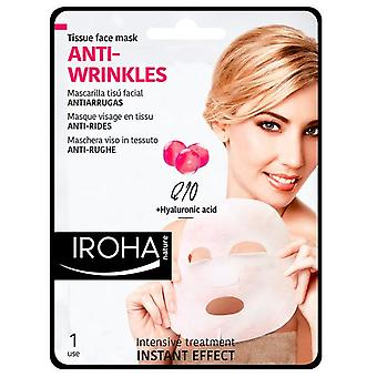 Iroha Nature Tissue Mask Q10 + Collagen + Soy