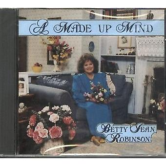Betty Jean Robinson - Made Up Mind [CD] USA import
