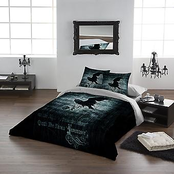 Alchemy Gothic - NEVERMORE - Super King Duvet Cover Set (King USA)