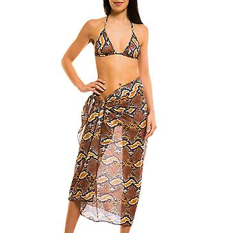 Kiniki Boa Tan Through Beach Sarong