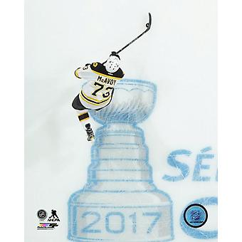 Charlie McAvoy 2016-17 Action Photo Print