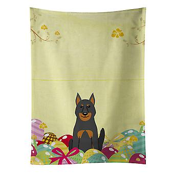 Carolines Treasures  BB6080KTWL Easter Eggs Beauce Shepherd Dog Kitchen Towel