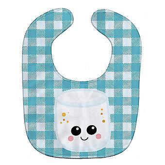 Carolines Treasures  BB7056BIB Marshmellow Face Baby Bib