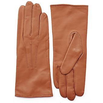 Pittards Three Point Nappa Leather Gloves - Cognac Tan