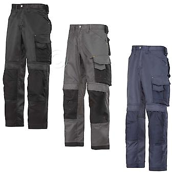 Snickers Duratwill Work Trousers with Kneepad Pockets . OFFICIAL UK DEALER-3312