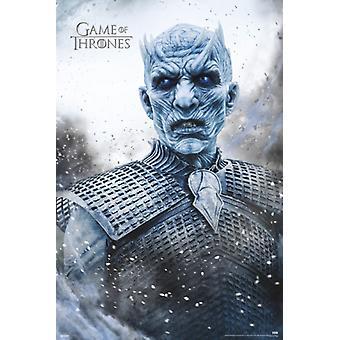 Game of Thrones - König der Nacht Poster Plakat-Druck