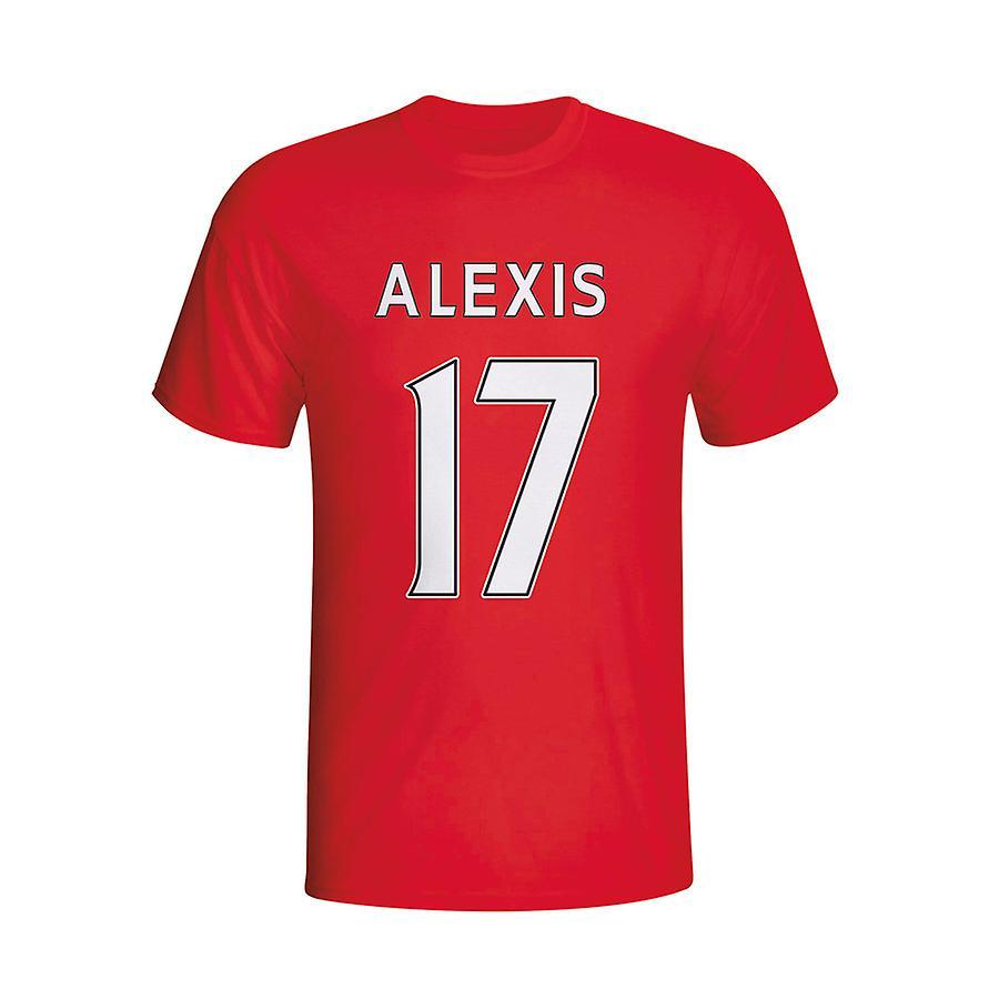 Alexis Sanchez Arsenal helten T-shirt (rød) - barn