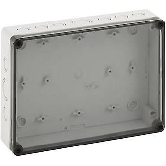 Build-in casing 180 x 254 x 63 Polycarbonate (PC) Light grey Sp