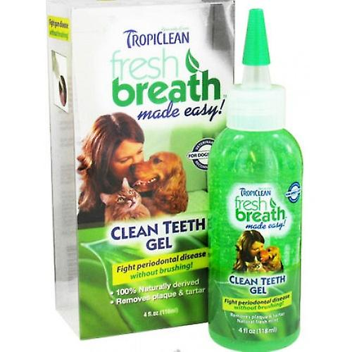 جل الأسنان النظيفة نفسا جديدة تروبيكليان للكلاب والقطط
