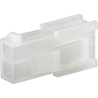 TE Connectivity 794953-4 VAL-U-LOK Retaining Cover For Use With Crimp-Pin-Contacts, Panel Mount, UL94 V-2 Number of pin