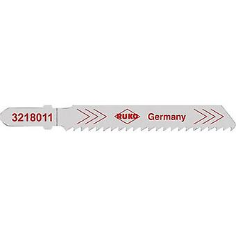 Jigsaw blades RUKO 3228011 Steel (grade 37) up to 4 mm, stainless steel, V2A up to 3