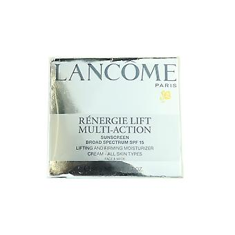Lancome Renergie Lift multi Action SPF15 Cream ansigt & hals 1.7 oz/50 g ny i Box
