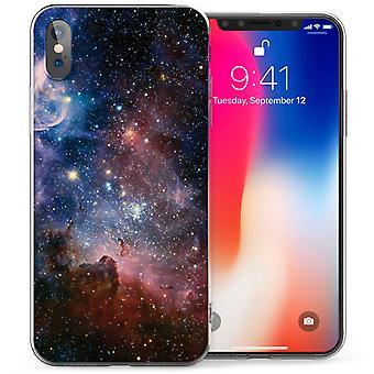 iPhonegeval X sterrenbeelden ruimte TPU Gel