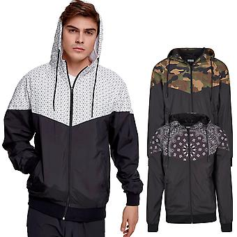 Urban classics - PATTERN Windrunner windbreaker jacket