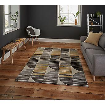 Pemboke HB33 beż żółty prostokąt dywany nowoczesne dywany