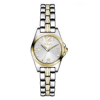 s.Oliver Damen Uhr Armbanduhr SO-3075-MQ