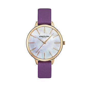 Kenneth Cole New York kvinders watch armbåndsur læder KC15056002