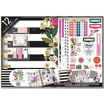 Create 365 12-Month Planner Box Kit-Botanical