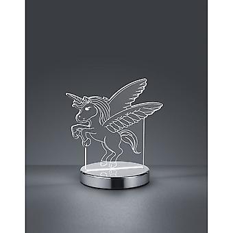 Trio Lighting Karo Fun Chrome Metal Table Lamp