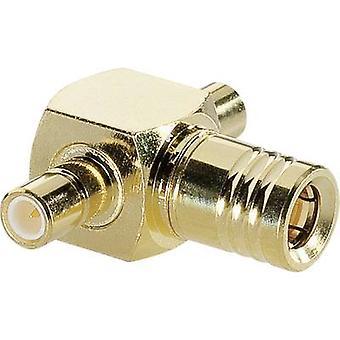 SMB adapter SMB plug - SMB socket BKL Electronic 0411039 1 pc(s)