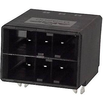 TE tilkobling innebygd pin strip (presisjon) dynamisk 3000 serien totalt antall pinnene 6 3-178139-2 1 eller flere PCer