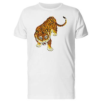 Illustration Of A Japanese Tiger Tee Men's -Image by Shutterstock