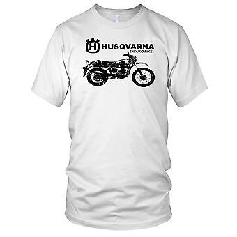 Husqvarna Enduro Bike Mens T Shirt