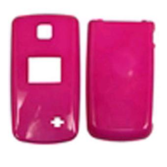 Unlimited Cellular Hard Shell Snap-On Case for LG AX300 - Hot Pink